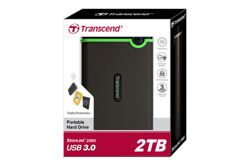 "1TB USB3.0 внешний жесткий диск Transcend 2.5"" HDD Portable StoreJet Mobile M3"